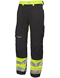 Helly Hansen Workwear Pantalón reflectante – Montaje York Construction Pant Cl 1 – Pantalón de trabajo