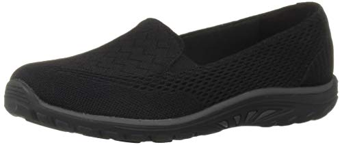 Skechers Frauen Reggae Fest Willows Loafers Schwarz Groesse 10 US /41.5 EU - Fest Reggae Skechers