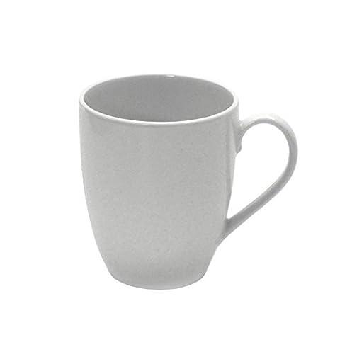 Retsch Arzberg Coffee Mug, Porcelain, 300ml, Round Bodied, Plain, White (Pack of 1)