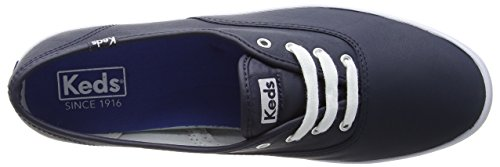 Keds Champion Core Leather, Scarpe Running Donna Blu (Navy)