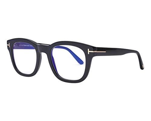 Tom Ford Brille (TF-5542-B 001) Acetate Kunststoff schwarz glänzend