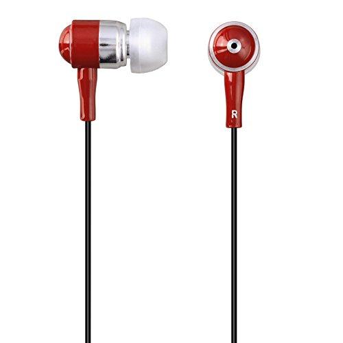 Hama Shiny Headset für Apple iPhone rot