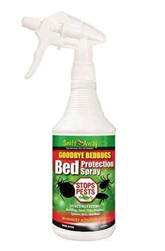 SniffAway IS-BBS-032 Goodbye Bedbug Spray, 0,9 l Oz, Hellbraun