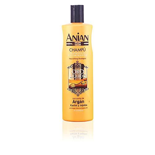 Anian Oro Líquido Champú Aceite Argán - 400 ml