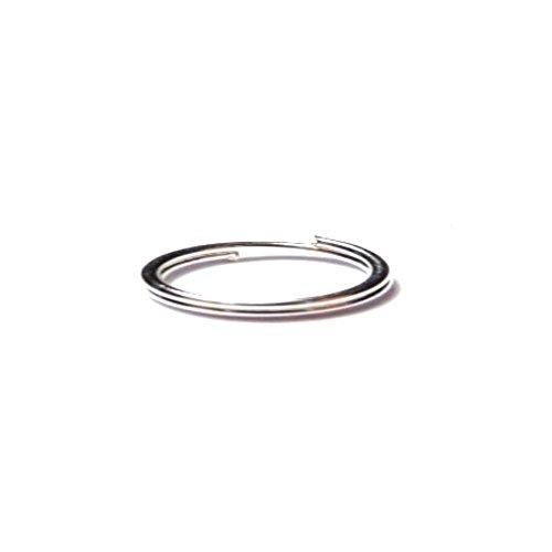25g gemischte Silber PLTD 4mm, 6mm und 8mm Jump Ring Ergebnisse