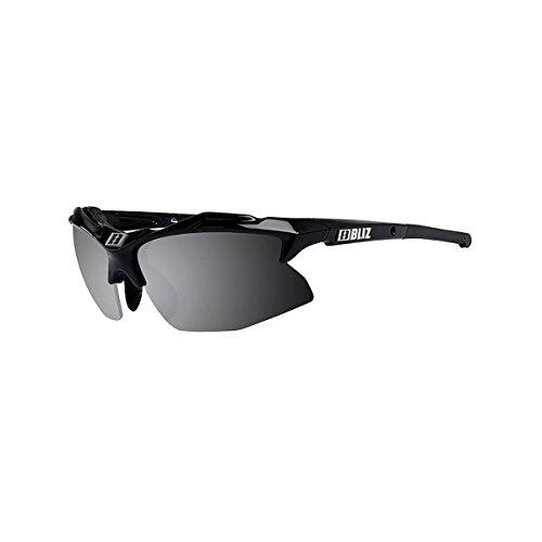 92dca218cbab Bliz Rapid Sunglasses Smoke Lens with Silver Mirror + Orange Spare Lens -  Black