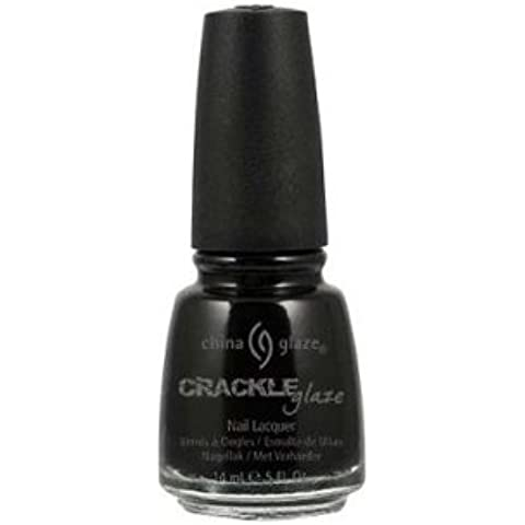 China Glaze Crackle Glaze Esmalte de Uñas 14ml - 980 Black Mesh