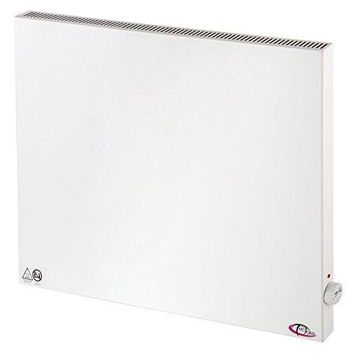 TecTake® Infrarotheizung Elektroheizung Hybrid Paneel Heizplatte Heizpaneel 600 Watt manueller Thermostatregler inkl. Wandhalterung Heizfolie Made in Germany