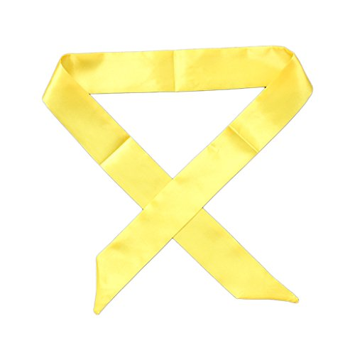 GROOMY Mutterschaft Multi-Use Faux Silk Schal Handgelenk Kopf Band Tasche Band Fliege Wrap Geschenk - C13