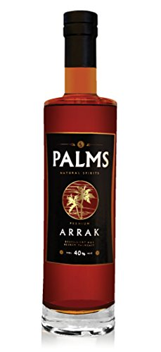 Preisvergleich Produktbild PALMS Premium Arrak - 3 Jahre - 40%vol - 700 ml