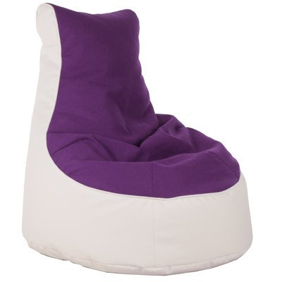 Sitzsack Lotos-Genua Farbe (Genua): Lila, Farbe (Lotos): Weiß