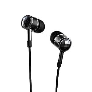 1MORE Piston Kopfhörer Earbuds Stereo Bass In Ear mit Mikrofon und Fernbedienung Kompatibel mit iOS und Android (Grau, EO320)