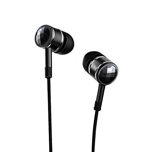 1más cristal swarovski-Auriculares in-ear micrófono