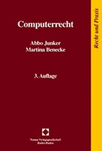 Computerrecht (Recht Und Praxis)