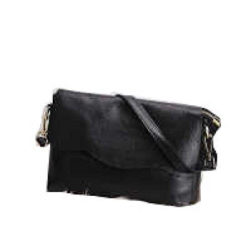 PACK Borsa In Pelle Portable Ladies Borsa Piccola Borsa Quadrata Messenger Bag Frizione Impermeabile Gorgeous Facile Da Curare Convenient Stylish Wild,D:Gray A:Black