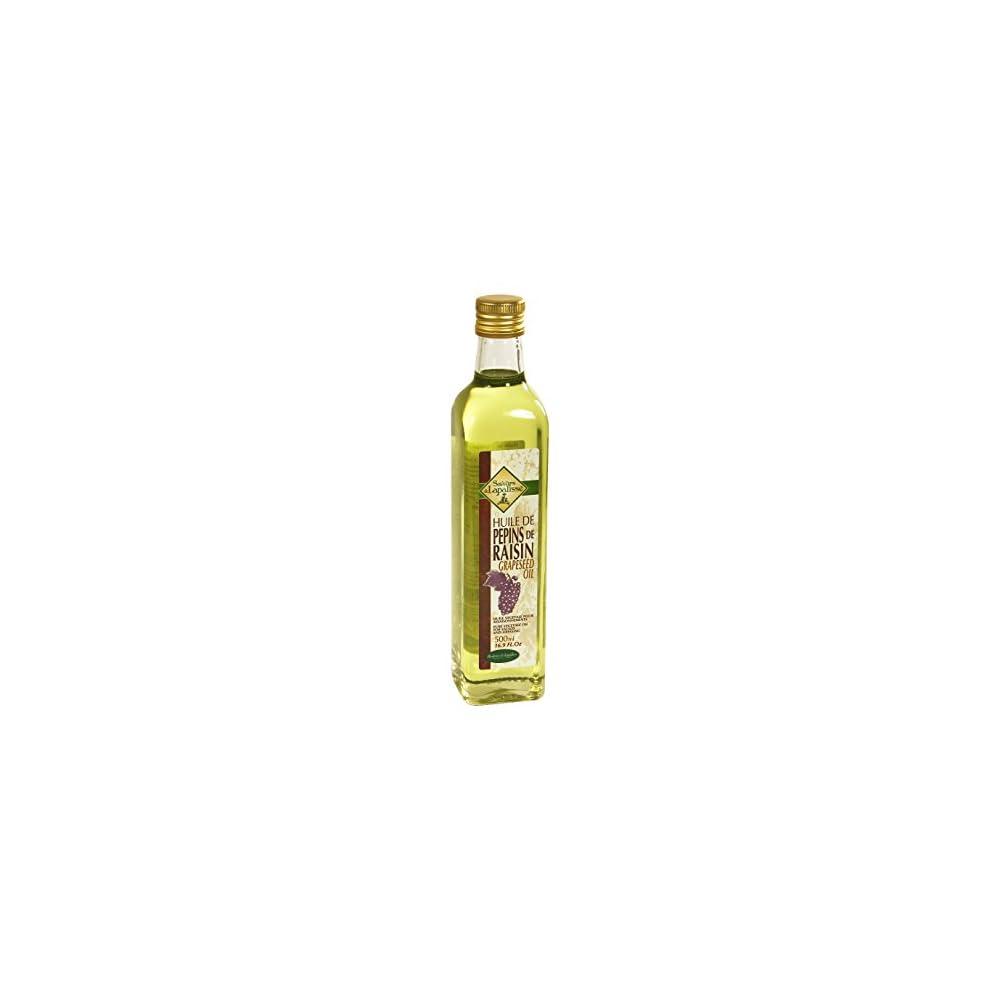 Saveurs De Lapalisse Druivenpit Olie 500ml Flasche Traubenkernl