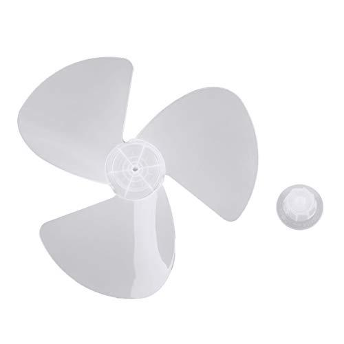 Iiniim Aspas del ventilador Aspas de 3 Hojas Plásticas de Ventilador Con/Sin Tuerca para Ventilador...