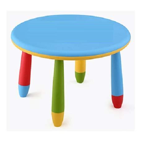 Aranaz Mesita Infantil Redonda Color Azul Mueblear SL 90047