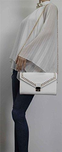 SwankySwans , Damen Clutch One Size Weiß