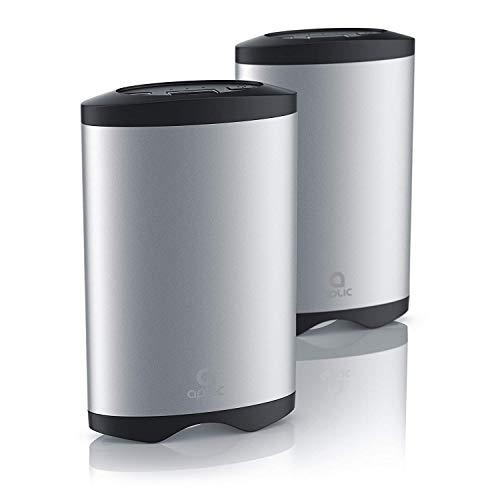 Aplic - 2 Calentadores Manos USB Banco Potencia Recargable