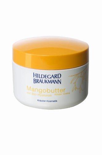 Butter Körper-creme (Hildegard Braukmann Mangobutter Körper Creme, 1er Pack (1 x 200 ml))