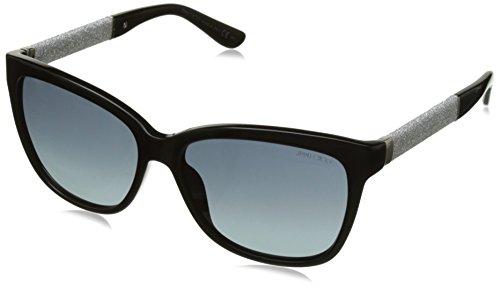 80b54a4d89 Jimmy Choo Mujer CORA/S HD FA3 56 Gafas de sol, Negro (Bk