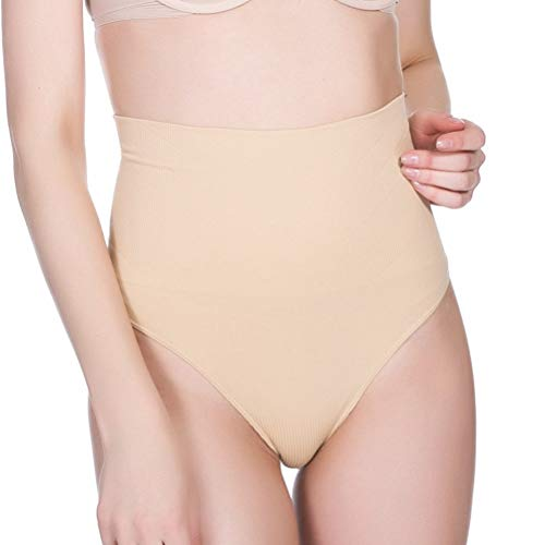 JWANS Frauen Shapewear Control Panties Body Shaper Abnehmen High Waist Thong Nahtlose Enge Butt Lifter Briefs - Control Panty