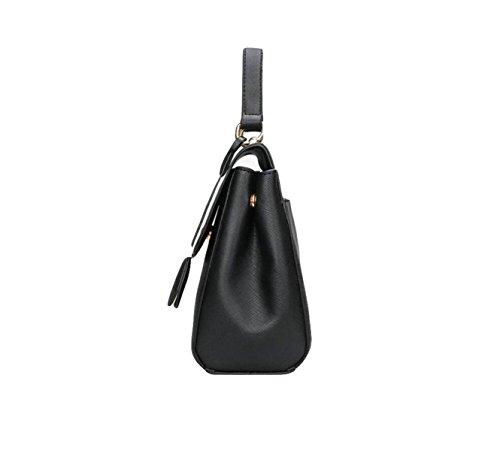 Damen Handtasche Umhängetasche Diagonale Paket Mode Wilden Temperament Elegante Freizeit Grey