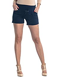 Zeta Ville - Pantalón cortos premamá banda elastica - bolsillos - mujer - 259c
