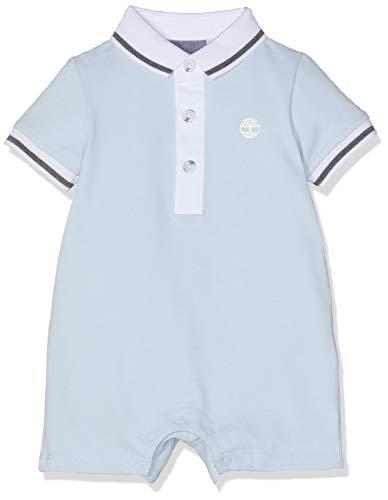 Timberland Baby - Jungen Latz Overall Combinaison Courte, Blau (Azur 781), 9-12 Monate (Herstellergröße: 09M) - Overall Monate 9