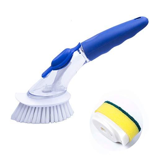 Yohong 3 Pack Cepillo de limpieza con detergente, Esponja Cepillo de limpieza...
