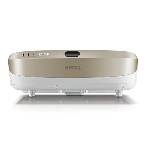31sDEVGZbbL. SS500  - BenQ W1600UST 1080p DLP Home Cinema Projector, Ultra Short Throw, 3300 Lumens, 13000:1 Contrast Ratio with 2 x 10 W Speakers, HDMI, White