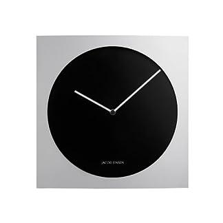JACOB JENSEN DANISH DESIGN Unisex Reloj de pared analógico aluminio ITEM No: 318