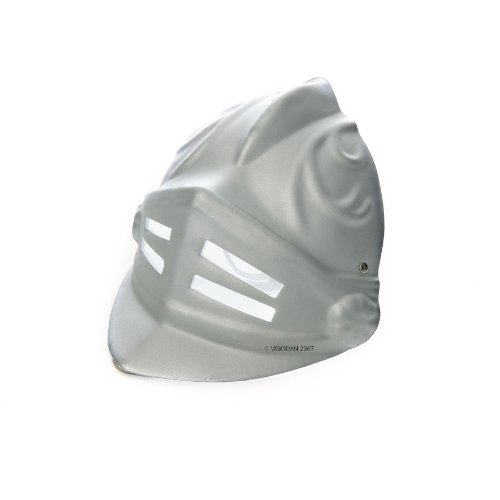 LIONTOUCH 1732 Soft Line Ritter Gladiator Maske Silber, silber (1 (Kostüme Gladiator Girl)
