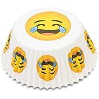 Fox Run Emoji llorar/Ríe de utensilios para hornear casos – tamaño ...