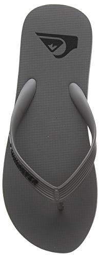Quiksilver Molokai, Chaussures de Plage & Piscine Homme, Gris (Grey Xsss), 42 EU
