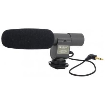 Shenggu Sg-108 Stereo-Mikrofon für DSLR-DV-Kamera: Amazon