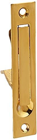 Deltana EP475CR003 4-Inch Solid Brass Edge Pull by Deltana