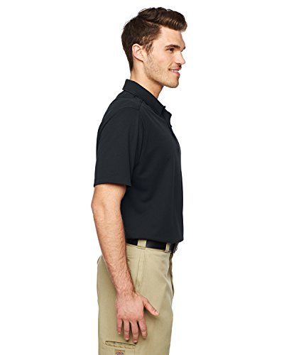Dickies ls952 4,9 oz Performance Tactical Polo schwarz - schwarz