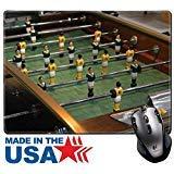 aus Pad/Matte mit genähte Kanten 9,8x 7,9Vintage Style Tisch Top Fußball in Bar Bild 20107710 ()