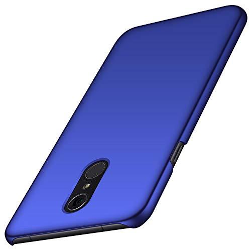 Avalri für LG Q7 Hülle, Ultradünne Handyhülle Hardcase aus PC Stoß- und Kratzfest Kompatibel mit LG Q7/ Q7 Plus/ Q7 Alpha (Glattes Blau)