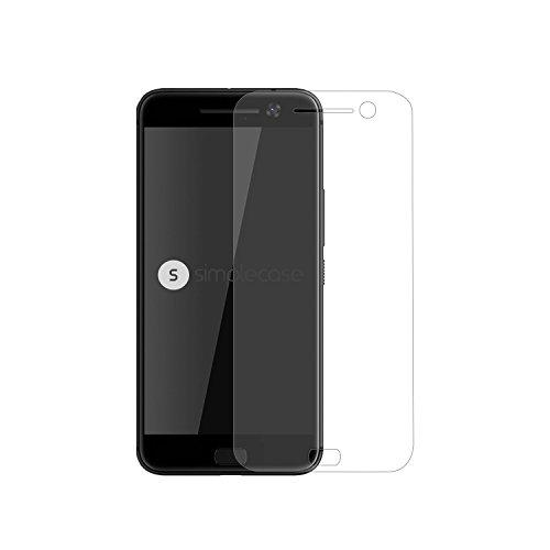 Simplecase Panzerglas passend zu HTC one M10 , Premium Bildschirmschutz , Schutz durch Extra Härtegrad 9H , Case Friendly , Echtglas / Verb&glas / Panzerglasfolie , Transparent - 1 Stück