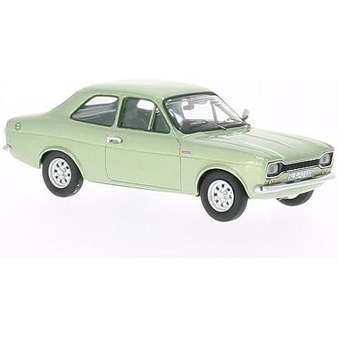 Ford Escort I 1300 GT, metallizzato-verde, 1970, modello di automobile, modello prefabbricato, WhiteBox 1:43 Modello esclusivamente Da