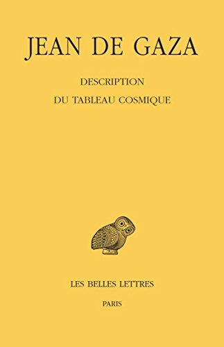 Description du Tableau cosmique