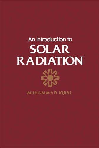 An Introduction To Solar Radiation por Muhammad Iqbal