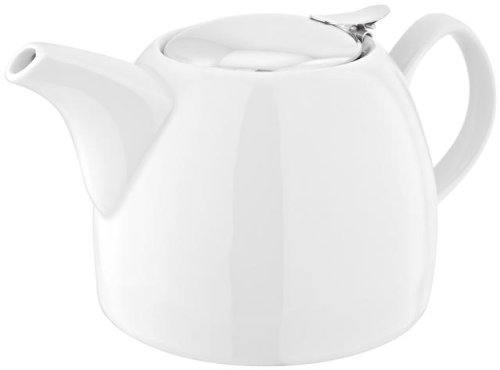 Judge Théière pour feuilles de thé, Blanc, 1,2 l