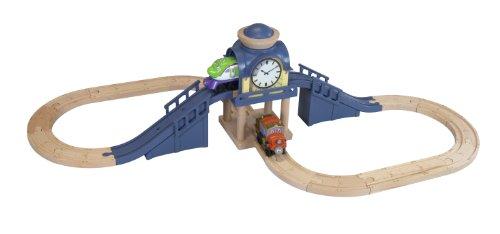 Chuggington LC56701 - Turmuhr Spielset  (Holz - Spielset)