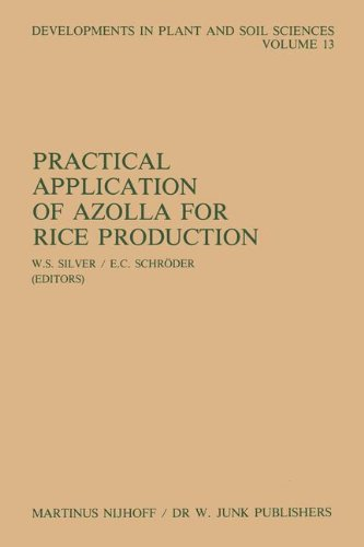 Practical Application of Azolla for Rice Production: Proceedings of an International Workshop, Mayaguez, Puerto Rico, November 17-19, 1982 (Developments in Plant and Soil Sciences, Band 13)