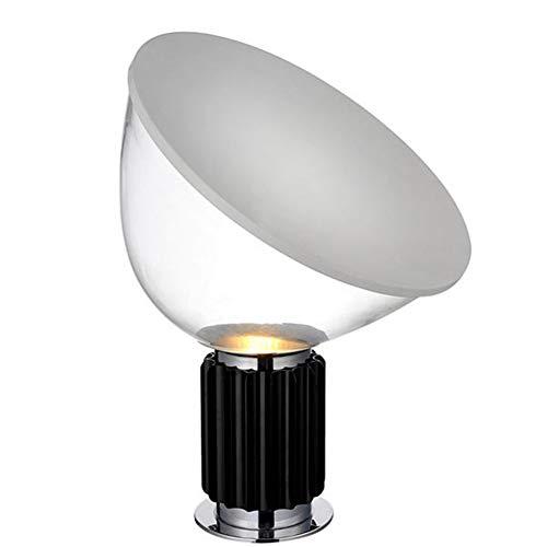 Radar Lampe De Table Moderne Simple Créative Chambre Simple Chevet Hôtel Model Room Lampes Décoratives (Couleur: Noir-50 * 37Cm)