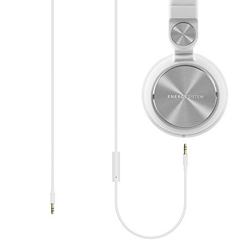 Energy Sistem DJ2 Energy Headphones with Mic (White)